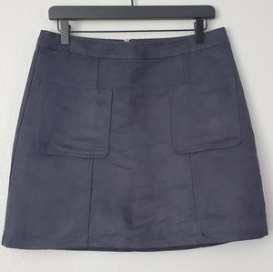 Old Navy Dark Blue A-Line Skirt Size 10 Women's